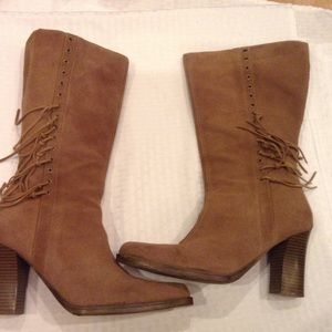 Expression  footwear for women suede  boots